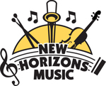 New Horizons Band of Sonoma County Logo